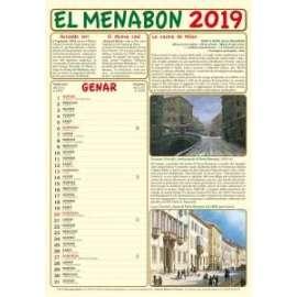 CALENDARIO EL MENABON 2019 c/volume omaggio
