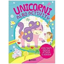 Libri GIUNTI - ALBO ACTIVITY UNICORNI