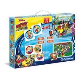 Giochi EDU KIT 4 IN 1 MICKEY ROADSTER RACERS