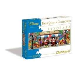 Giochi PUZZLE - 1000 - PANORAMIC DISNEY FLOWER
