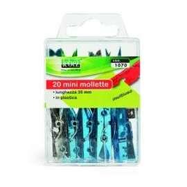 MOLLETTE MINI CLIP METALLO -1070- conf.20pz
