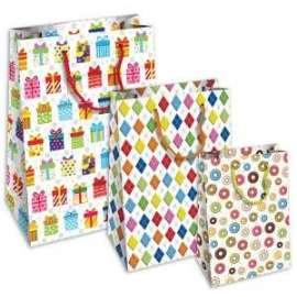 Shopper Carta 20x25x11 HAPPY conf.10pz