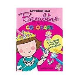 Libri DAMI EDITORE - BAMBINE DA COLORARE