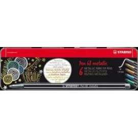 Pennarelli Pen 68 Metallic