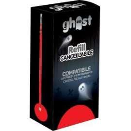 REFILL GHOST CANCELLABILE set 3pz - ROSSO (42868)