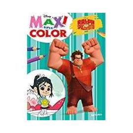 Libri WALT DISNEY - RALPH SPACCATUTTO. MAXI SUPER COLOR