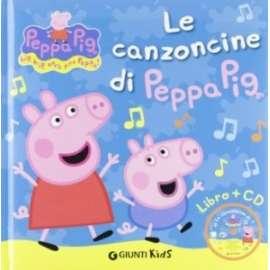 Libri GIUNTI - CANZONCINE DI PEPPA PIG. CON CD