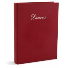 Album Laurea ROSSO C/SCRITTA 10 fogli