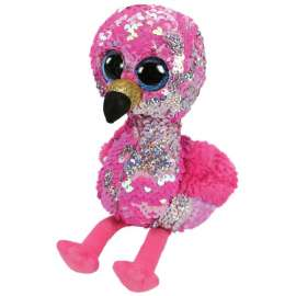 Peluche TY FLIPPABLES - PINKY 15cm