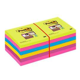 Foglietti Post It® Super Sticky Colori Ultra