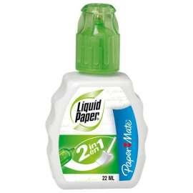 Correttore fluido Liquid Paper 2in1