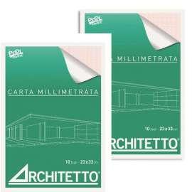 Blocchi Carta Millimetrata Architetto