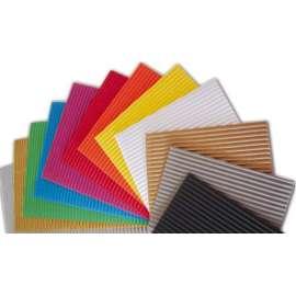 Cartoncino Ondulato Colorato 50x70