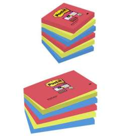 Foglietti Post-it® Super Sticky Colori BORA BORA