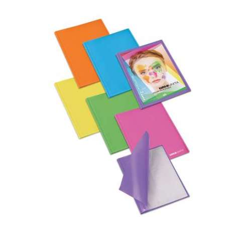 Portalistino personalizzabile formato A4 10 fogli dorso morbido