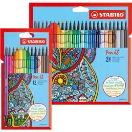 Pennarello STABILO® Pen 68 astuccio in cartone