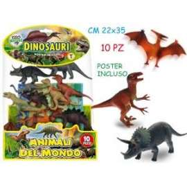 Giochi DINOSAURI RIGIDI ASSORTITI