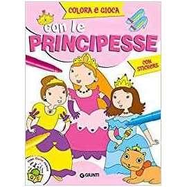 Libri GIUNTI - COLORA CON LE PRINCIPESSE