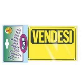 Cartello plastica Vendesi
