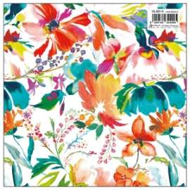 Carta Regalo 70x100 FIORI ACQUARELLO conf.10fg