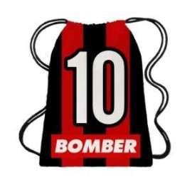 ZAINETTO BOMBER 10 ROSSONERO