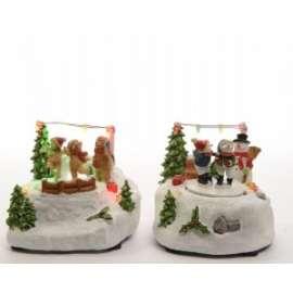 Villaggio Natale SCENE DI NATALE