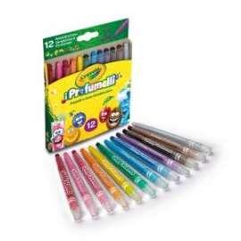 PASTELLI CERA Crayola PROFUMELLI GIRA&COLORA conf.12 colori