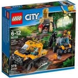 Giochi LEGO City - 60159 - MISSIONE NELLA GIUNGLA