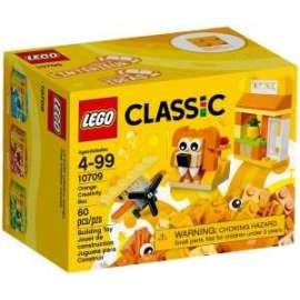 Giochi LEGO Classic - 10709 - CREATIVITà ARANCIO