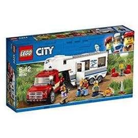 Giochi LEGO City - 60182 - PICKUP E CARAVAN