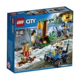 Giochi LEGO City - 60171 - FUGA IN MONTAGNA