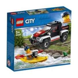 Giochi LEGO City - 60240 - AVVENTURA SUL KAYAK