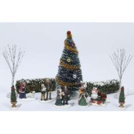 Villaggio Natale PERSONAGGI E ALBERI