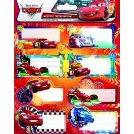 Etichette Segnanome DISNEY CARS conf.2fg 16 etichette