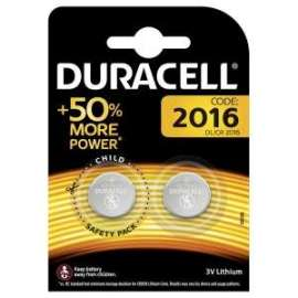 NEW - PILE DURACELL PASTIGLIA CR2016 Blister 2pz