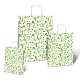 Shopper Carta 16x8x21 NATURA conf.10pz