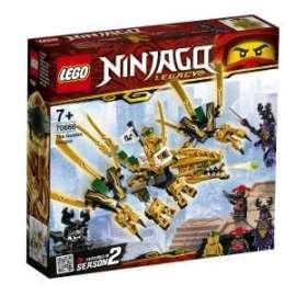Giochi LEGO Ninjago - 70666 - IL DRAGONE D ORO