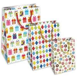 Shopper Carta 25x35x12 HAPPY conf.10pz