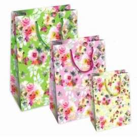 Shopper Carta 25x35x12 FIORI conf.10pz