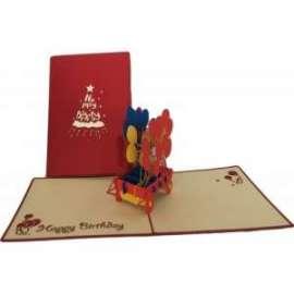Biglietti Origami PALLONCINI
