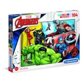 Giochi PUZZLE - 104 - AVENGERS