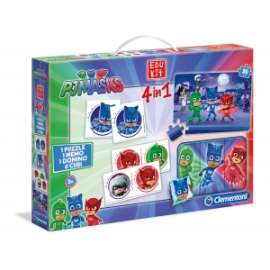 Giochi EDU KIT 4 IN 1 PJ MASKS