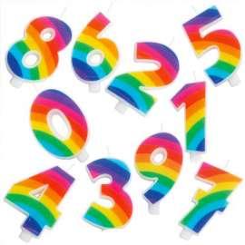 Candelina Scintillante Rainbow