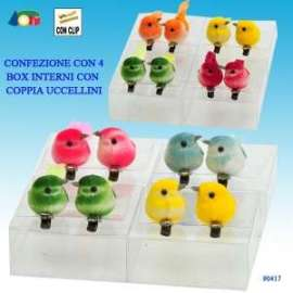 Pasqua UCCELLINI C/CLIP conf.4pz