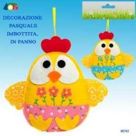 Pasqua DECORAZIONE C/CHIOCCIA IN PANNO