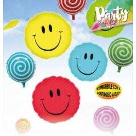 Party METAL BALLOON SMILE