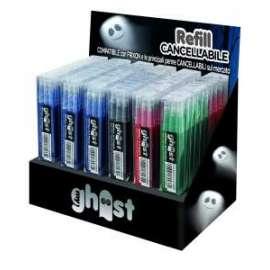 REFILL GHOST SET 3pz (18blu + 12rosse + 3nere + 3ve) EX-36pz
