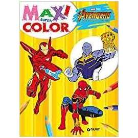 Libri WALT DISNEY - AVENGER MAXI SUPER COLOR