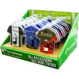 Calcio ASSORTIMENTO CHIAVETTA USB 16GB (7 juve - 6 inter - 7 milan)