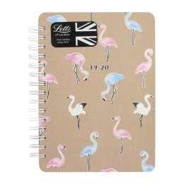Letts SCUOLA 19/20 - Flamingo A6 Settimanale